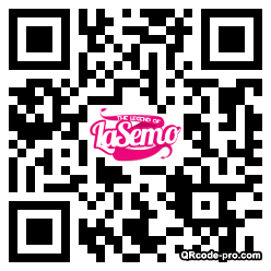 QR code with logo R5H0