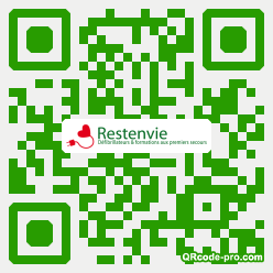 QR code with logo RC80