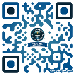 QR code with logo RCp0