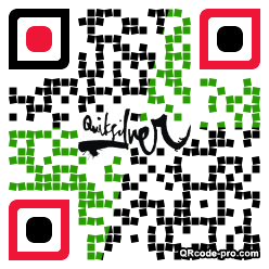 QR code with logo RER0