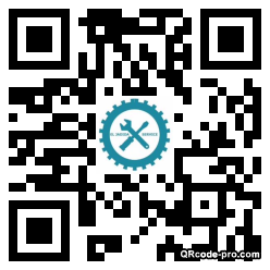 QR code with logo REf0
