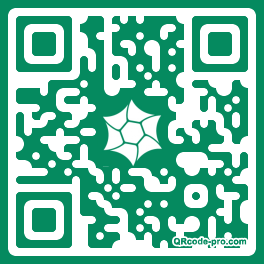 QR code with logo RKQ0