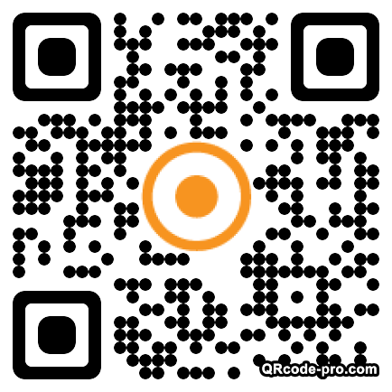 QR code with logo RdJ0
