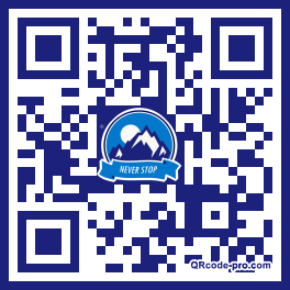 QR code with logo Rm30
