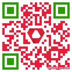 QR code with logo Rmm0