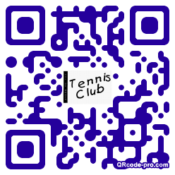 QR code with logo Roz0