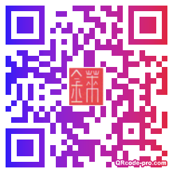 QR code with logo RqH0