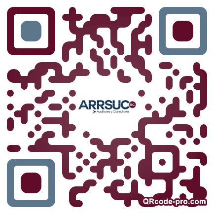 QR code with logo RrT0