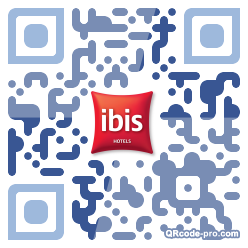QR code with logo Rzw0