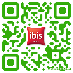 QR code with logo Rzy0