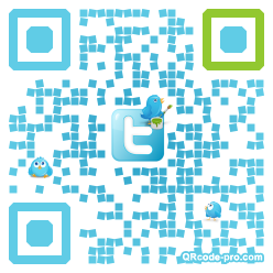 QR code with logo S320