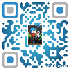 QR code with logo S4R0