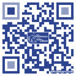 QR code with logo S4w0