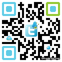 QR code with logo S4y0