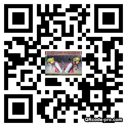 QR code with logo S540