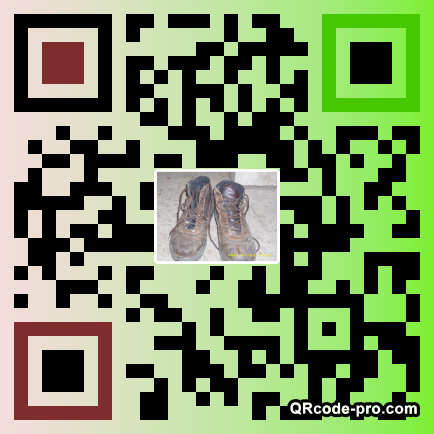 QR code with logo SDR0