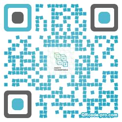 QR code with logo SLB0