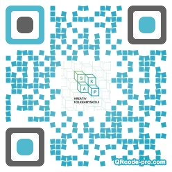 QR code with logo SLh0