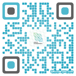 QR code with logo SMF0