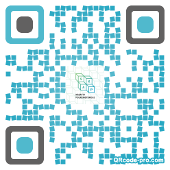 QR code with logo SMG0