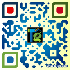 QR code with logo SNd0