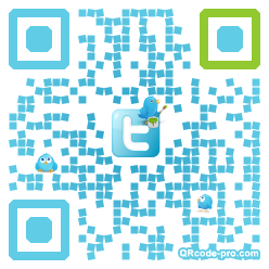QR code with logo SOA0