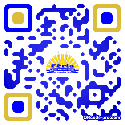 QR code with logo SOk0
