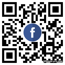 QR code with logo SP50