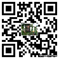 QR code with logo SSc0