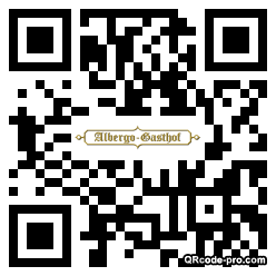 QR code with logo SV80