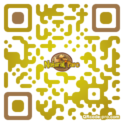 QR code with logo SWX0