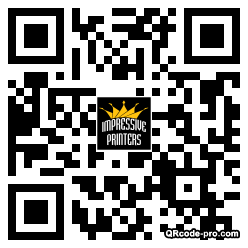 QR code with logo SWh0
