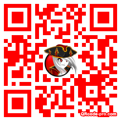 QR code with logo Sh50