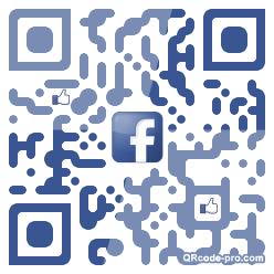 QR code with logo T0m0