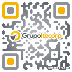 QR code with logo T1J0