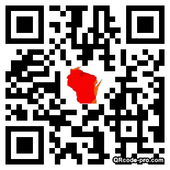 QR code with logo T5L0