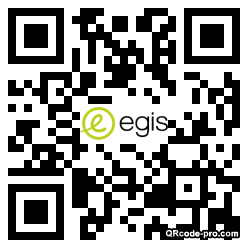 QR code with logo TCs0