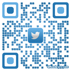 QR code with logo TK30