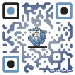 QR code with logo TLC0
