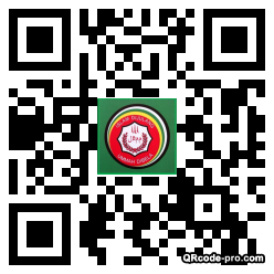 QR code with logo TMx0