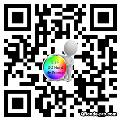 QR code with logo TQY0