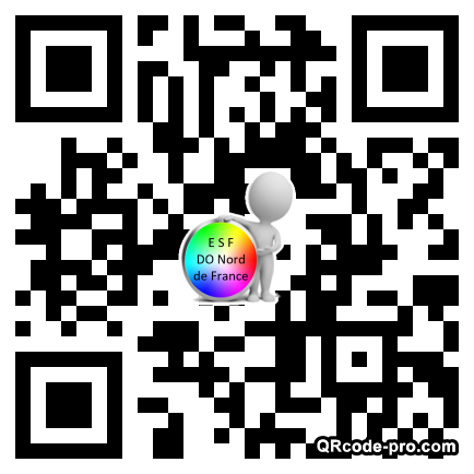 QR code with logo TR50