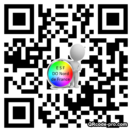 QR code with logo TR90