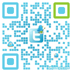 QR code with logo TUI0