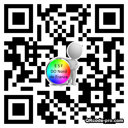 QR code with logo TUq0