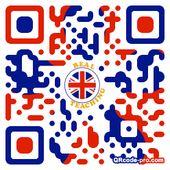 QR code with logo TbX0