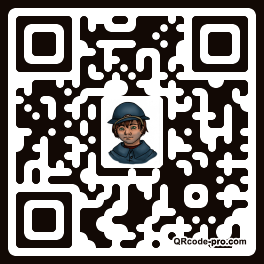 QR code with logo Td40
