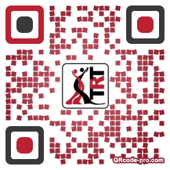 QR code with logo TeR0