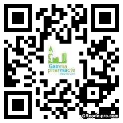 QR code with logo TnY0
