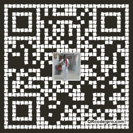 QR code with logo Tpa0